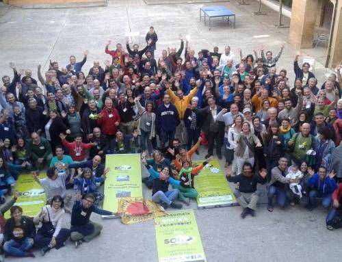 Hemos participado en la escuela anual de Som Energia
